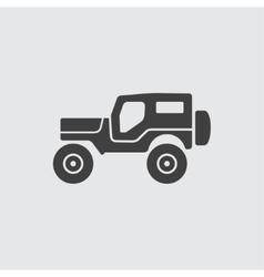 Jeep icon vector