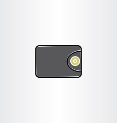 Money wallet icon symbol element vector