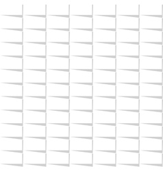 White seamless rectangle pattern vector