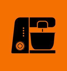 Kitchen food processor icon vector