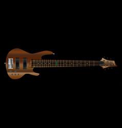Six string bass vector