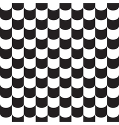 Tile pattern background black and white vector