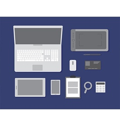 Flat workspace vector