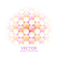 Abstract Background Sphere vector image vector image