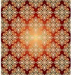Antique ottoman turkish pattern design fifty five vector