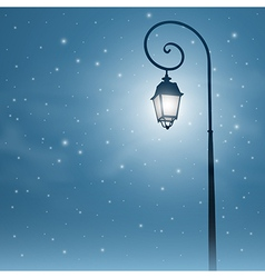 Street Light vector image vector image