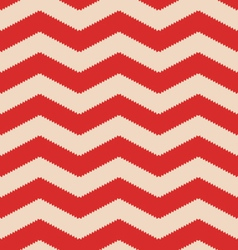 Red jagged chevron vector