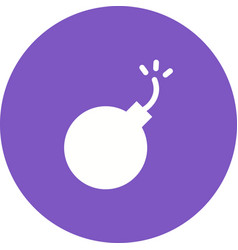Exploding cannon ball vector