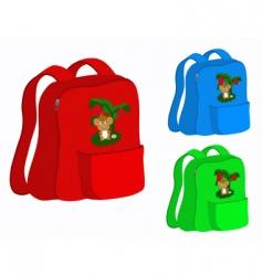 school satchel vector image vector image