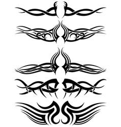 Tribal tattoos vector