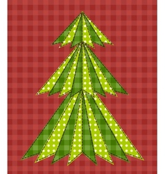 Christmas tree for scrapbooking 5 vector