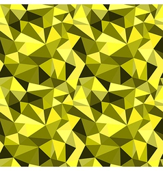 Seamless yellow abstract geometric pattern vector