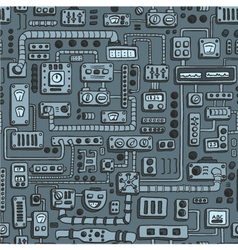 Appliances seamless pattern vector