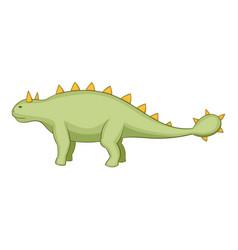 kentrosaurus icon cartoon style vector image