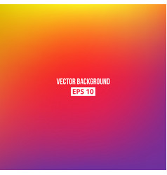 orange yellow purple blur gradient vector image