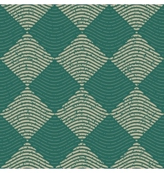 Seamless green grey color hand drawn wavy vector