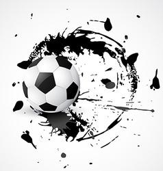 abstract football design vector image vector image