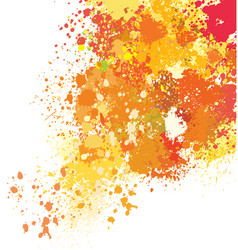 Background of paint splashes vector