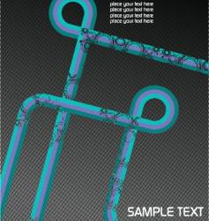 Brochure cover vector