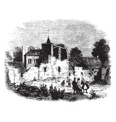 Farmhouse vintage vector