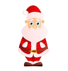 Santa claus on a white background vector