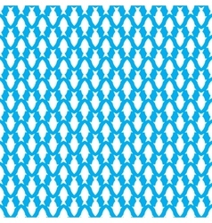 seamless pattern with fish flat vector image