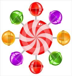 lollipops02 vector image