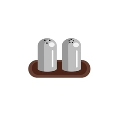 Salt shaker and pepper icons vector