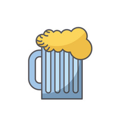 beer drink icon vector image