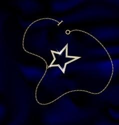 Bracelet star vector