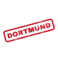 Dortmund text rubber stamp vector
