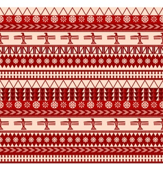 mexican style pattern vector image vector image