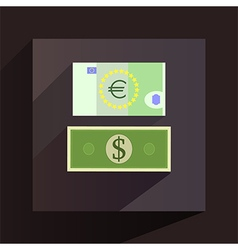 Money icon vector image vector image