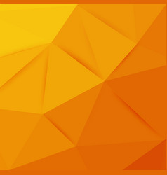 abstract orange graphic art vector image