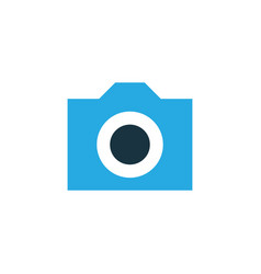 camera colorful icon symbol premium quality vector image