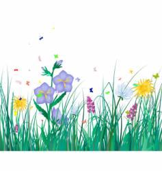 grass vector image