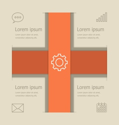 Abstract banners infographic design vector