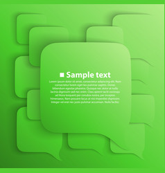 chat background green vector image vector image