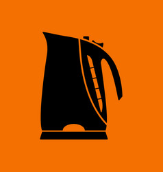 kitchen electric kettle icon vector image