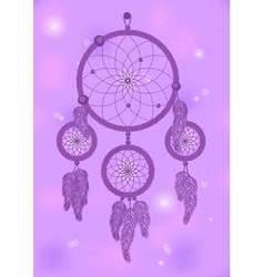 Dream catcher 2 vector
