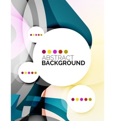 Colorful fresh modern abstract background vector