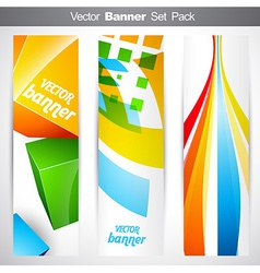 Vertical headers vector