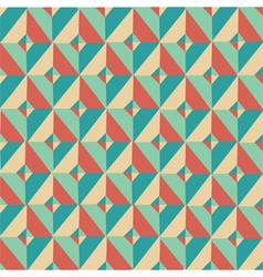 Triangle symmetry vintage pattern 2 vector