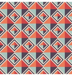 Seamless geometric pattern rhombus background vector