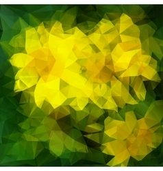Abstract modern polygonal background vector