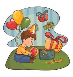 cartoon child vector image