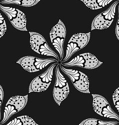 Doodle mandala vector image