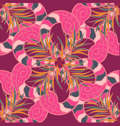 Ethnic mandala ornament can be used for textile vector