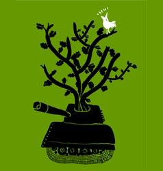 war is over vector image vector image