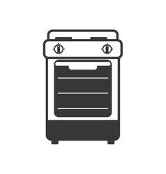 Stove supply house electric appliance icon vector